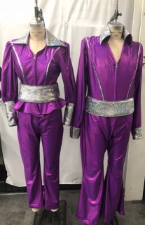 Purple Mamma Mia Costumes for More Information Visit https://www.thecostumer.com/t-show-mamma-mia.aspx