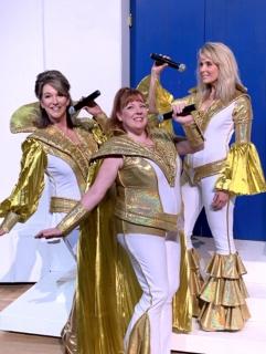 Mamma Mia jumpsuits Act 1