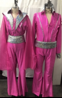 Pink Mamma Mia Costumes for More Information Visit https://www.thecostumer.com/t-show-mamma-mia.aspx