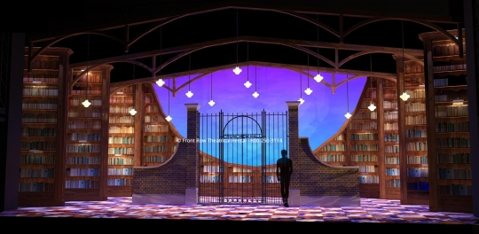 Matilda Set Rental - Playground picture - Front Row Theatrical Rental - 800-250-3114