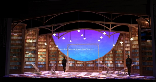 Matilda Set Rental - When I grow Up picture - Front Row Theatrical Rental - 800-250-3114