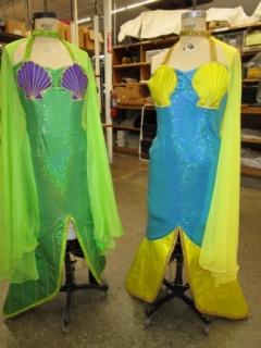 Ariel mermaid sisters