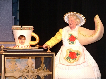Beauty and the Beast Costume Rental - Mrs Potts and Chip