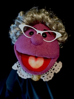 Mrs. T or Mrs Buttz puppet Avenue Q