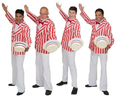 Rental Costumes for The Music Man - Striped Jackets