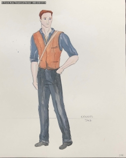 Newsies costume rental - Jack period costumes - Front Row Theatrical Rental - 800-250-3114