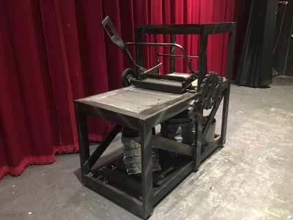third view of printing press