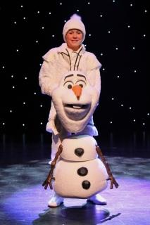 Olaf Puppet & Costume