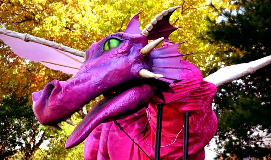 Gabriel Design Theatricals Shrek Dragon rental
