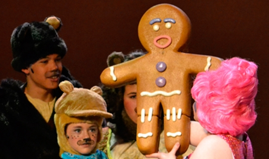 Gabriel Design Theatricals Shrek Gingy rental