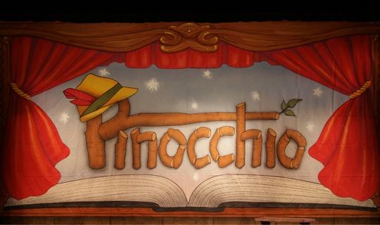 Pinocchio backdrop for rent | Music Theatre International