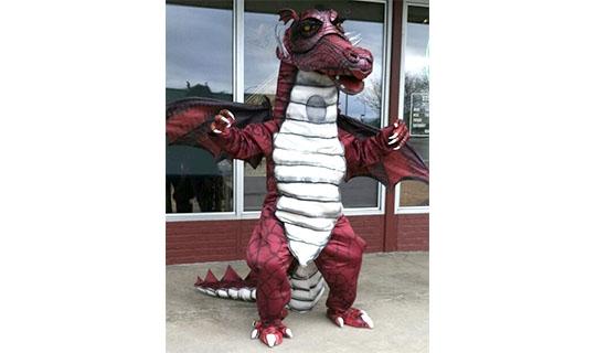 Precious Dragon Mascot