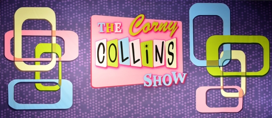 Corny Collins Show Backdrop used in the production of Hairspray