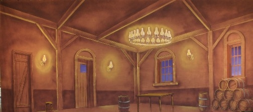 The Tavern 2 backdrop is used in shows of Beauty and the Beast and Les Miserables