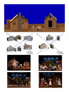 Scene Design For Fiddler On The Roof Music Theatre