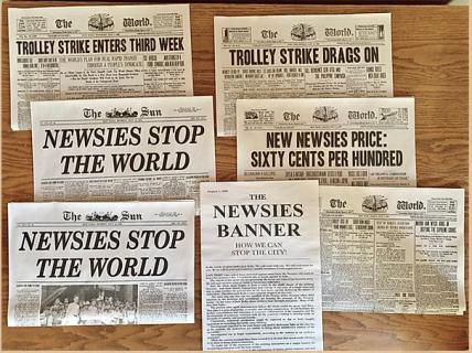Newsies Newspapers