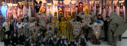 Lion King Jr. Costumes Whole Cast