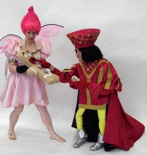 Shrek the Musical, sugar plum fairy, Farquaad, Gingy