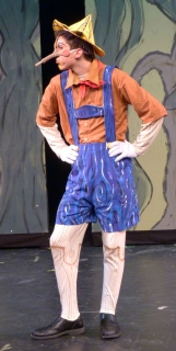 Shrek the Musical Pinocchio Nose and Costume