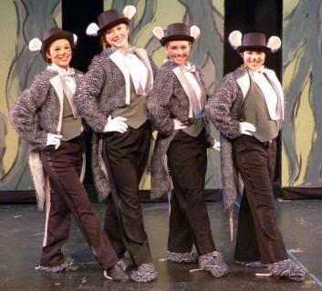 Shrek the Musical Rat Tuxedo Costumes
