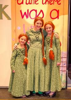 Shrek the Musical - Princess Fiona, Teen Fiona, & Child Fiona Costumes
