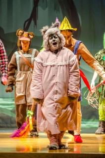 Shrek the Musical Big Bad Wolf Costume