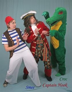 Captain Hook Smee Crocodile