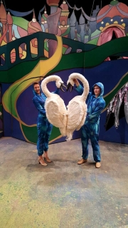 Swan Puppets