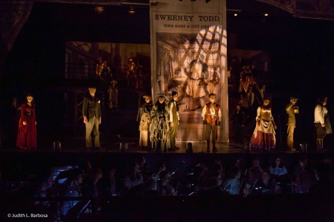 Sweeney Todd Act Curtain Drop