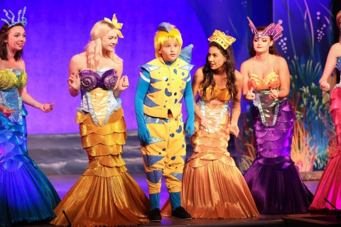 Mersisters and Flounder The Little Mermaid
