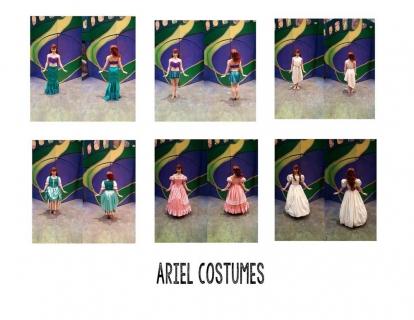Ariel Costumes