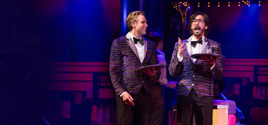 Adam Pascal and Max Crumm in Disaster! On Broadway (Photo by Jeremy Daniel)