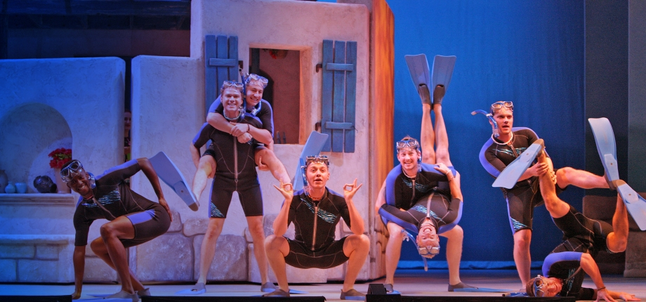 Mamma Mia! at Music Theatre Wichita (Photo © Christopher Clark)