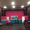 Full stage view of Steel Magnolias set