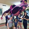 Dragon Puppet Rental for Shrek the Musical