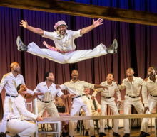 The London Cast of The Scottsboro Boys (Photo © Facebook The Scottsboro Boys Musical London)