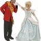 Rental Costumes for Cinderella, the Musical - Prince Charming and Cinderella in her ball gown