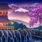 Oriental Landscape 1 OR023 20x40 Mulan Jr. Backdrop Rental