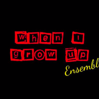 When I Grow Up Ensemble Logo! Red and yellow