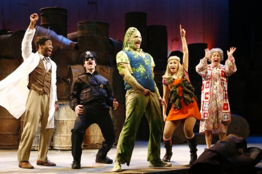 The Off-Broadway Cast of THE TOXIC AVENGER