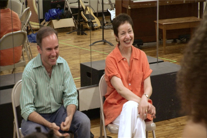 Click here to view clips not seen in the documentary, such as this conversation with ONCE ON THIS ISLAND authors Lynn Ahrens & Stephen Flaherty