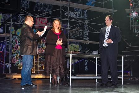 John Prignano presents Jennifer Hemme and Horne