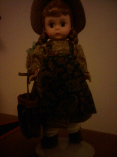 My ANNE OF GREEN GABLES Madame Alexander doll