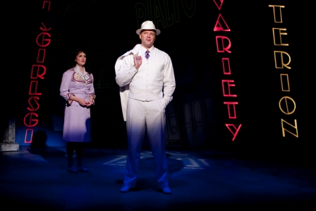 Kate Fisher and Edward Watts in GUYS & DOLLS