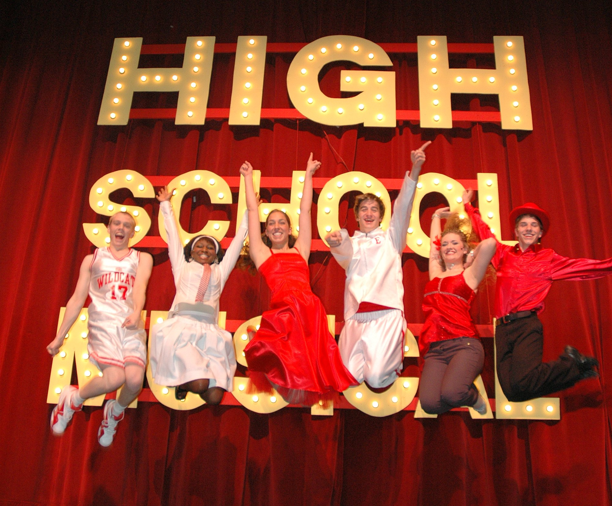 The Cast of High School Musical!