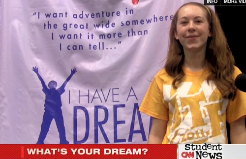 DreamBooth footage from the Junior Theater Festival.