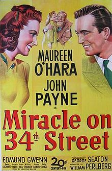 Miracle on 34th Street Original Movie Poster