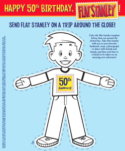 Send Flat Stanley Around The Globe Download The 50th Anniversary