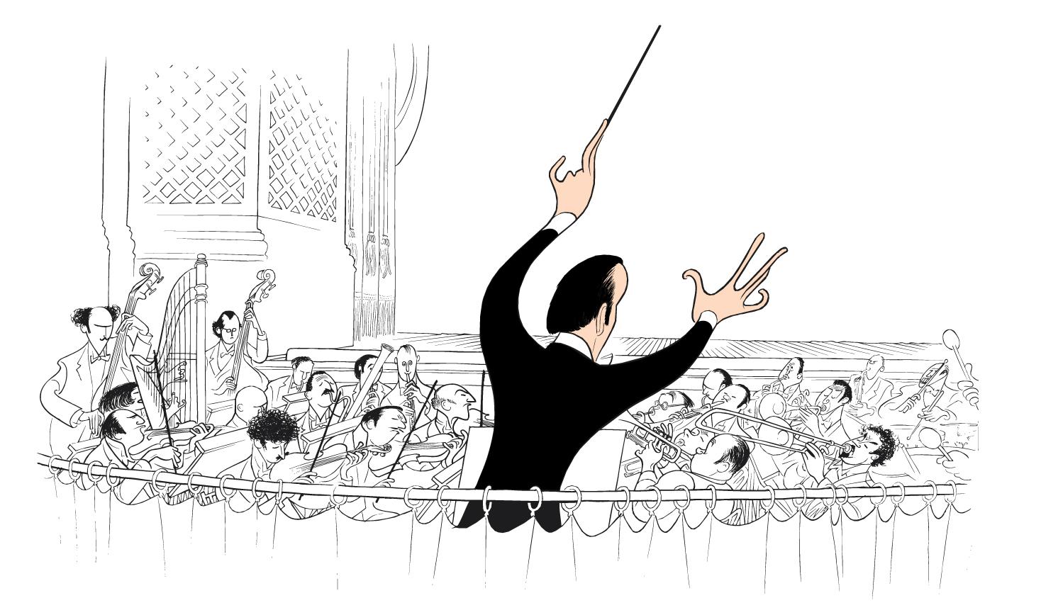Original Hirschfeld Drawing