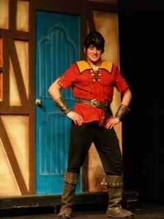 Beauty & the Beast - Gaston Costume & Wig